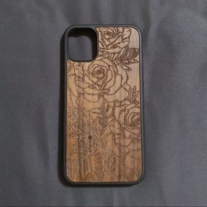 iPhone 11 [6.1 inch] Floral Wood Case